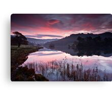 Dawn, Rydal Water Canvas Print