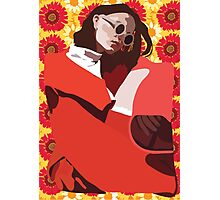 Red Summer Photographic Print