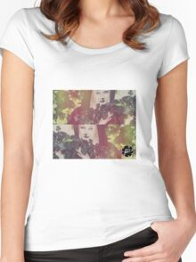 Hiding from the World Women's Fitted Scoop T-Shirt