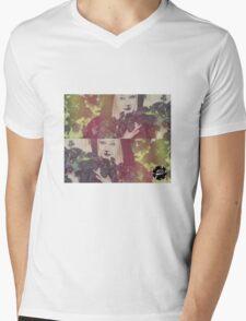 Hiding from the World Mens V-Neck T-Shirt