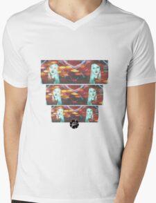 Eyes of the Wild Mens V-Neck T-Shirt