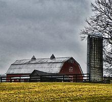 Rainy Day Farm by PineSinger