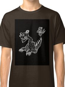 Here There Must be Dragons Classic T-Shirt