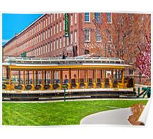 Lowell Trolley 1910 Poster