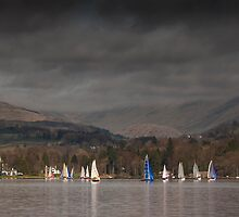 Windermere Boats by Steve Langton