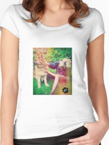 Thoughts of the Wolf Women's Fitted Scoop T-Shirt