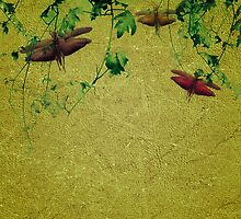 Plants and Insects Composition by DFLCreative