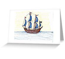 Go Find Ye Treasure  Greeting Card
