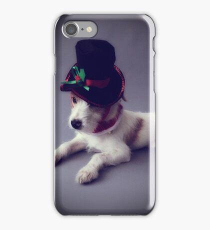 Holly Jolly Dog iPhone Case/Skin