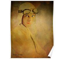Amelia Ehrhart Poster