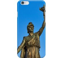 VICTORY AND PEACE - ELGIN WAR MEMORIAL iPhone Case/Skin