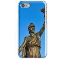 VICTORY AND PEACE - ELGIN WAR MEMORIAL iPhone Case/Skin