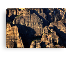 The Holy Rocks of Meteora Canvas Print