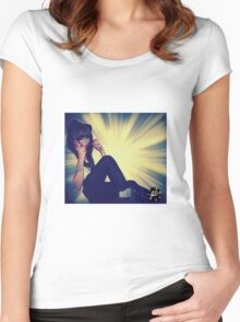 Sophisticated Women's Fitted Scoop T-Shirt