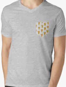 Pizza Heaven Mens V-Neck T-Shirt