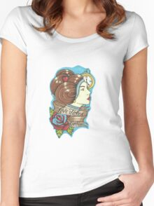 Love Takes Time  Women's Fitted Scoop T-Shirt