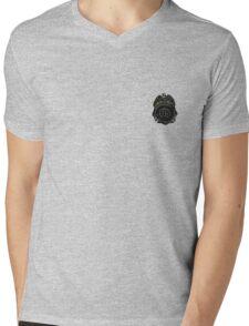 Henry R. Schrader's Badge Mens V-Neck T-Shirt