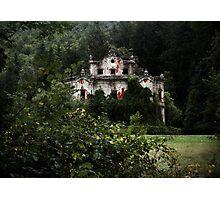 Villa De Vecchi Photographic Print