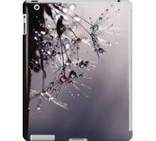 droplets of rainbow sparkles iPad Case/Skin