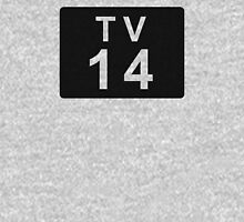TV 14 (United States) black Hoodie