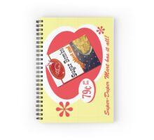 Sugar Bombs Spiral Notebook