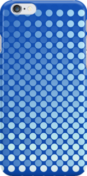 Bright Blue Day iPhone and iPad case by Ra12