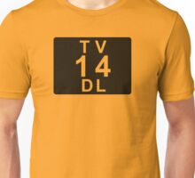 TV 14 DL (United States) black Unisex T-Shirt