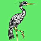 Florida Egret by Casey Virata