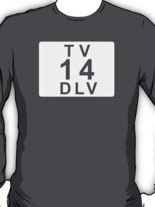 TV 14 DLV (United States) white T-Shirt