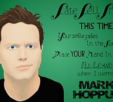 Mark Hoppus (2 out of 3) by Sidrah Mahmood