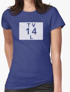 TV 14 L (United States) white T-Shirt