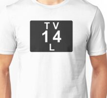 TV 14 L (United States) black Unisex T-Shirt