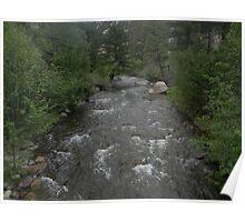 Fall River - Estes Park, Colorado Poster