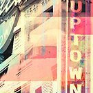 Uptown Urban Abstract by susan stone