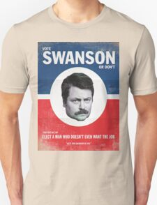 Vote For Ron Swanson T-Shirt