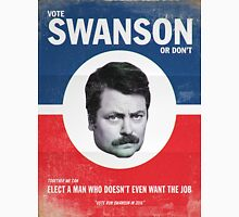 Vote For Ron Swanson Unisex T-Shirt