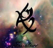 The mortal instruments : Shadowhunter rune -  Fearless (fear not) by venussabetkar