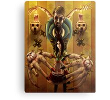 Alice and the Doll Maker Metal Print