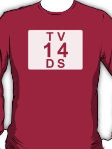 TV 14 DS (United States) white T-Shirt
