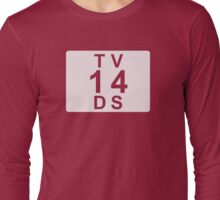 TV 14 DS (United States) white Long Sleeve T-Shirt