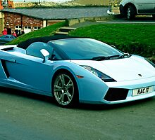 Lamborghini Gallardo, Whitby by Rod Johnson