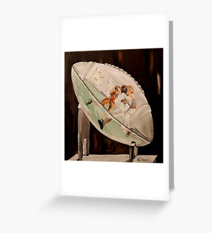 Going The Distance  Greeting Card