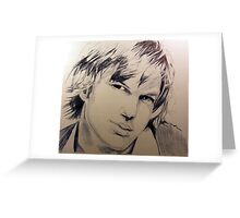 Ashton Ballpoint pen Greeting Card