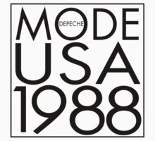 Depeche Mode : USA 1988 - 3 - Black by Luc Lambert