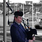 The Lone Piper by dgscotland