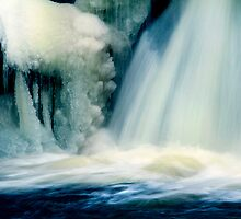 Frozen Waterfall by Angelika  Vogel