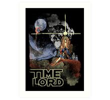TIME LORD Episode IV Art Print