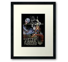 TIME LORD Episode IV Framed Print