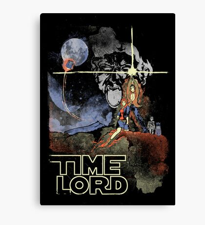 TIME LORD Episode IV Canvas Print
