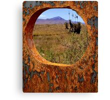 A Rustic View of Mount Violet Canvas Print
